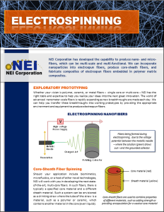 Electrospinning Brochure
